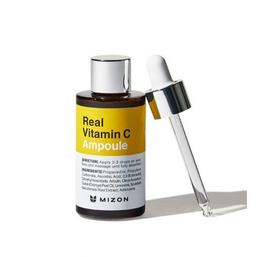 MIZON Real Vitamin C bőrfiatalító ampulla szérum 19 % C-vitamin tartalommal